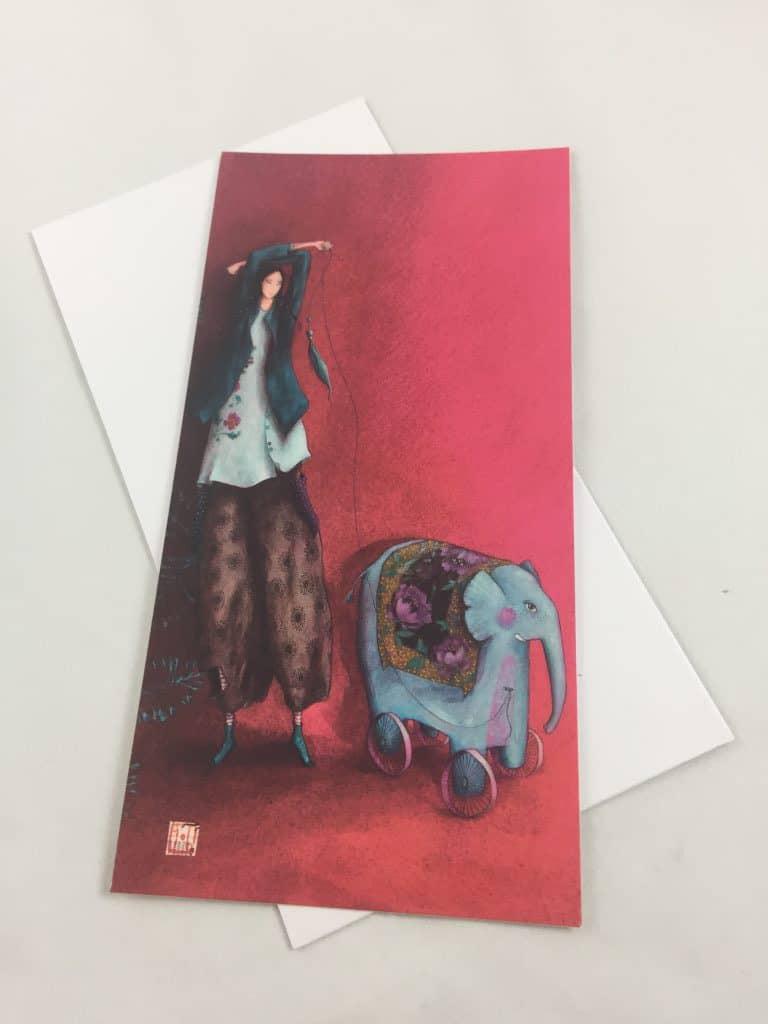 Carte simple collection Gaëlle Boissonnard