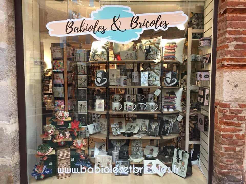 Facade Babioles Et Bricoles